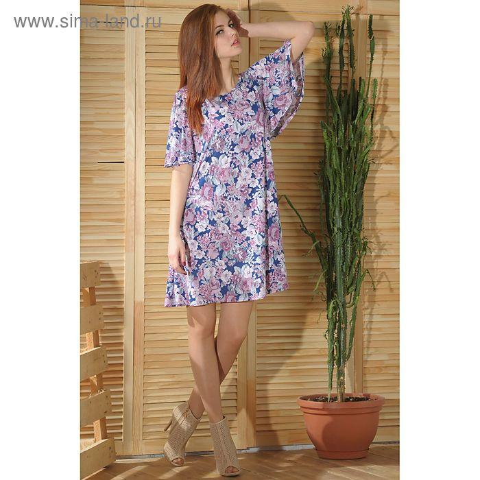 Платье 4777а, размер 44, рост 164 см, цвет розовый/белый