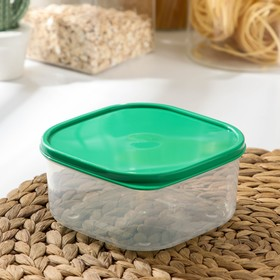 The food container 700 ml, colour green