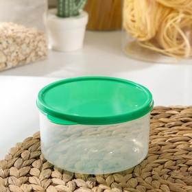 {{photo.Alt || photo.Description || 'Контейнер круглый Доляна, пищевой, 500 мл, цвет зелёный'}}