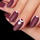 "Stencils for nails ""Circles"", 1"