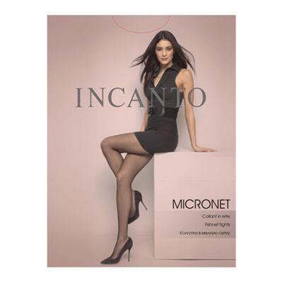 Колготки женские Incanto Micronet Collant, сетка, цвет nero (чёрный), размер 3