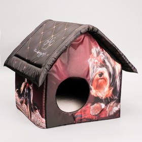 Домик для маленьких собак, 33 х 33 х 40