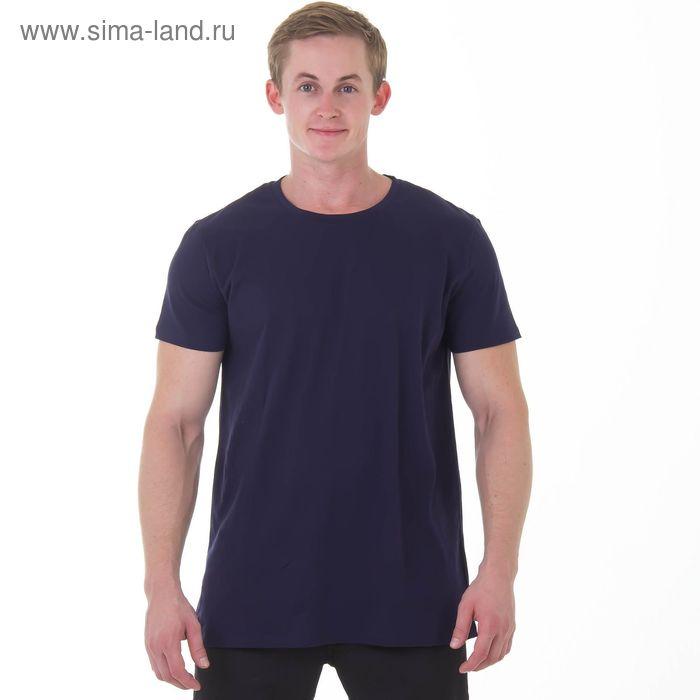 """Футболка мужская """"Спорт"""", цвет синий, рост 182-188 см, размер 56 (арт. MK20105/05)"""