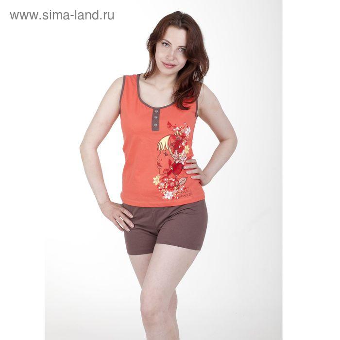 Комплект женский, цвет персиковый, размер 52 (арт. PK2384/01)