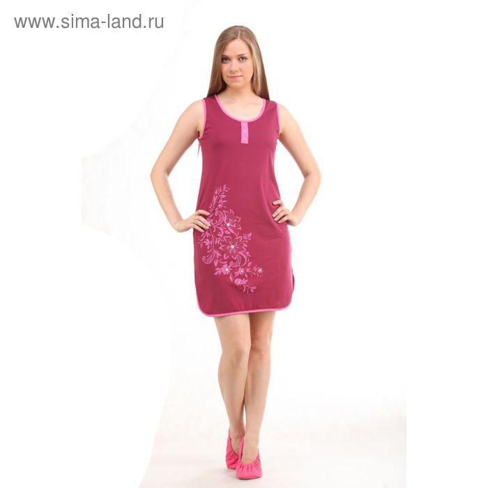 Платье женское, цвет лиловый, размер 44 (арт. PK2383/01)