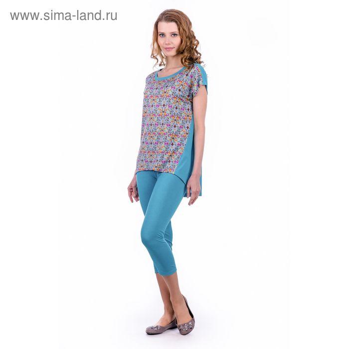 "Комплект женский ""Жасмин"", цвет изумрудный, размер 48 (арт. MK2326/01)"