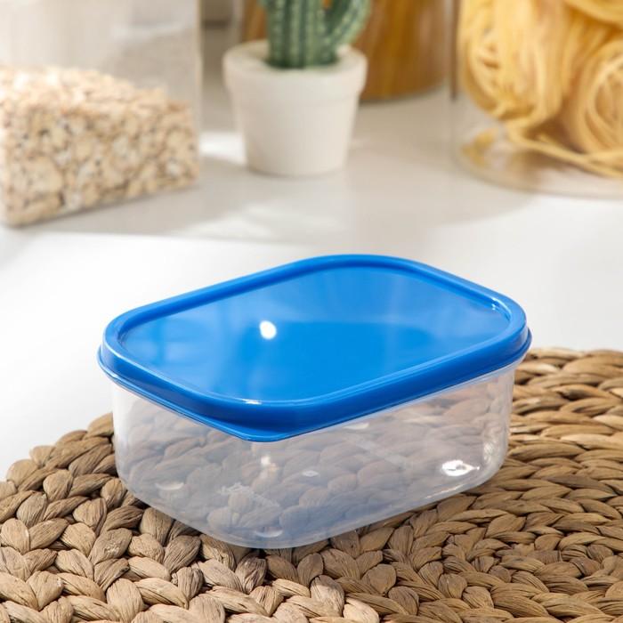 Контейнер пищевой 500 мл, цвет синий
