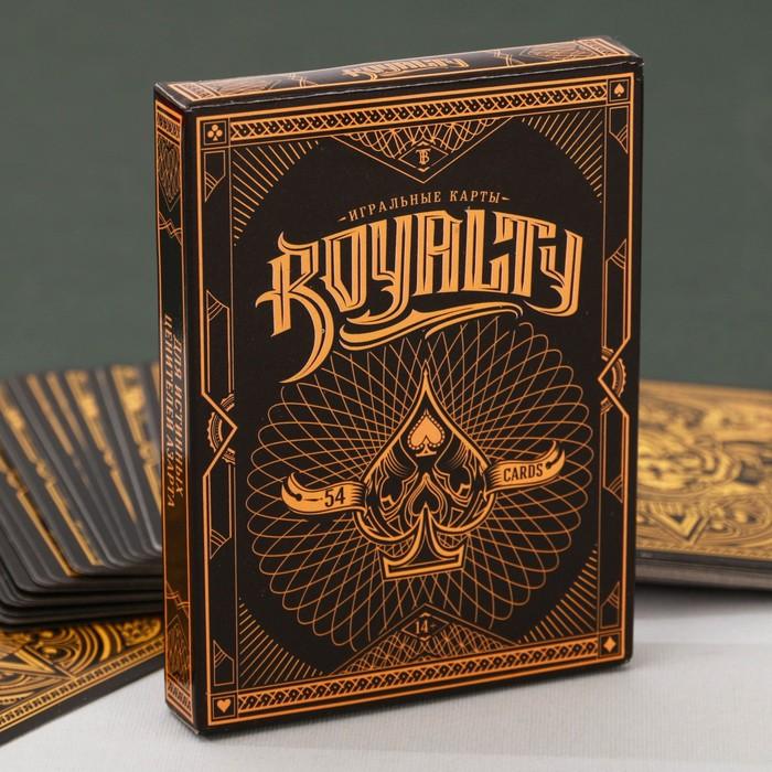 """Подарочные карты """"Royalty"""". 54 карт, 8,5 х 11,5 см"""