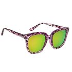 Очки солнцезащитные Square, оправа фиолетовая , линзы микс