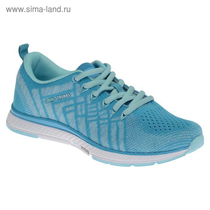 Кроссовки женские STROBBS, цвет голубой, размер 36 (арт. F6396-13)