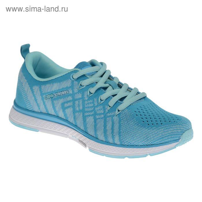Кроссовки женские STROBBS, цвет голубой, размер 37 (арт. F6396-13)