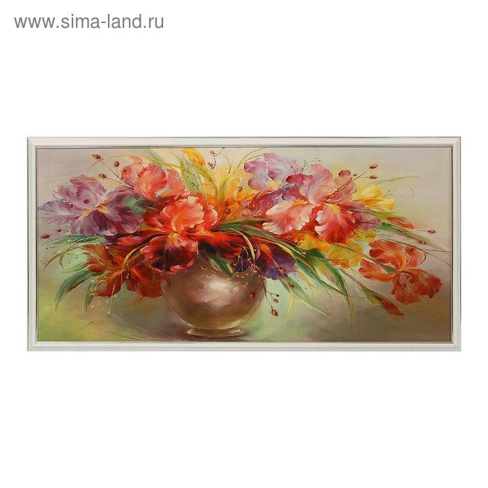 """Картина """"Разноцветные цветы"""""""