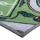 Палас «Лунапарк», 120х100 см, зелёный - фото 7254663