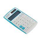 Калькулятор настольный 12-разрядный CPC-112VBL,72*120*9мм, двойное питание, синий