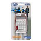 Калькулятор настольный 12-разрядный CPC-112VRDBP, 72*120*9мм, двойное питание, красный
