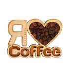 """Магнит """"Я люблю кофе"""""""