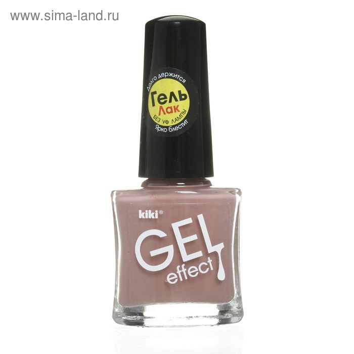 Лак для ногтей Kiki Gel-effect, тон 030, 6 мл