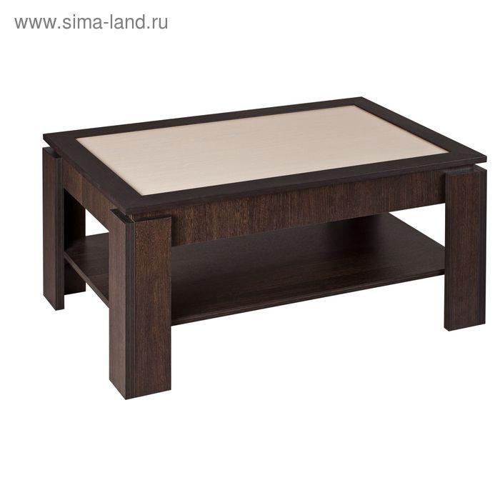 Стол журнальный Модест-1 900х600х454 Венге/Дуб девон