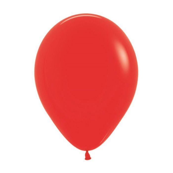 """Шар латексный 5"""", пастель, набор 100 шт., цвет красный 015 - фото 308467124"""