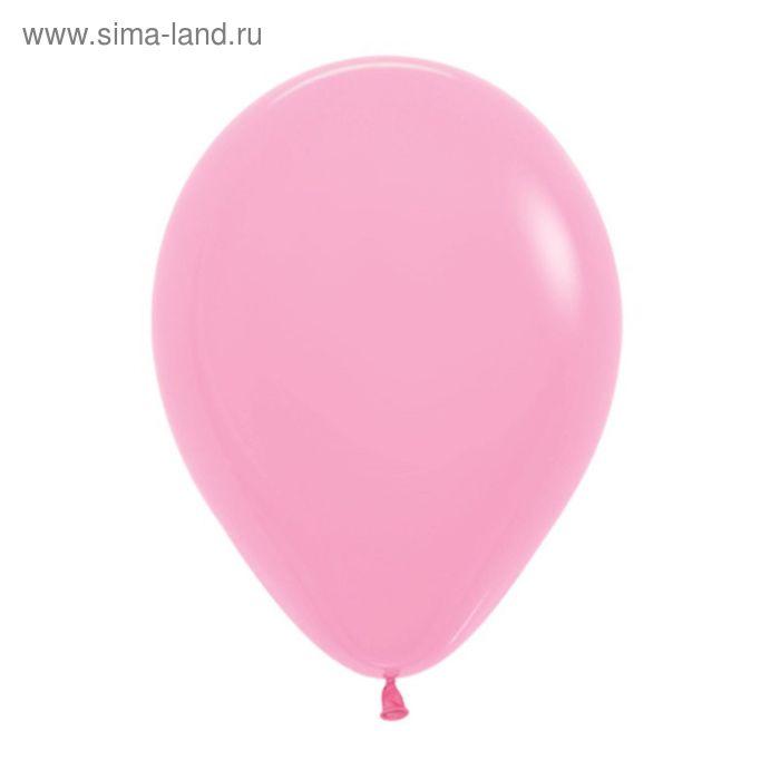 """Шар латексный 5"""", пастель, набор 100 шт., цвет розовый"""