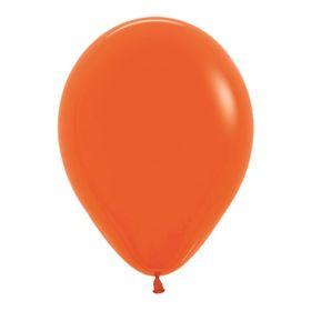 """Шар латексный 5"""", водные бомбочки, пастель, набор 100 шт., цвет оранжевый 061"""