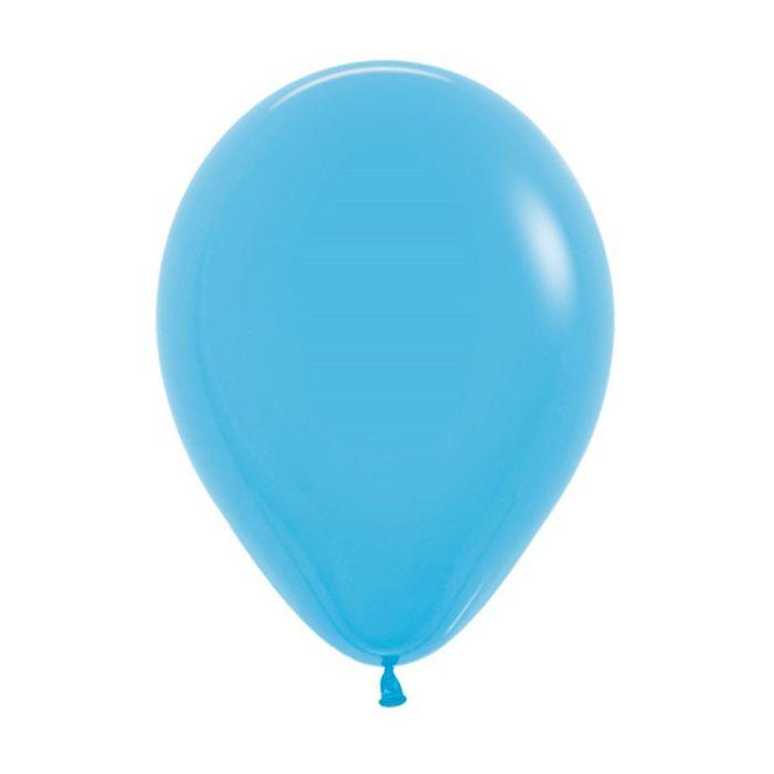 """Шар латексный 12"""", пастель, набор 12 шт., цвет голубой 040 - фото 272831495"""