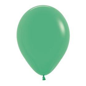 """Шар латексный 5"""", пастель, набор 100 шт., цвет зелёный 030"""