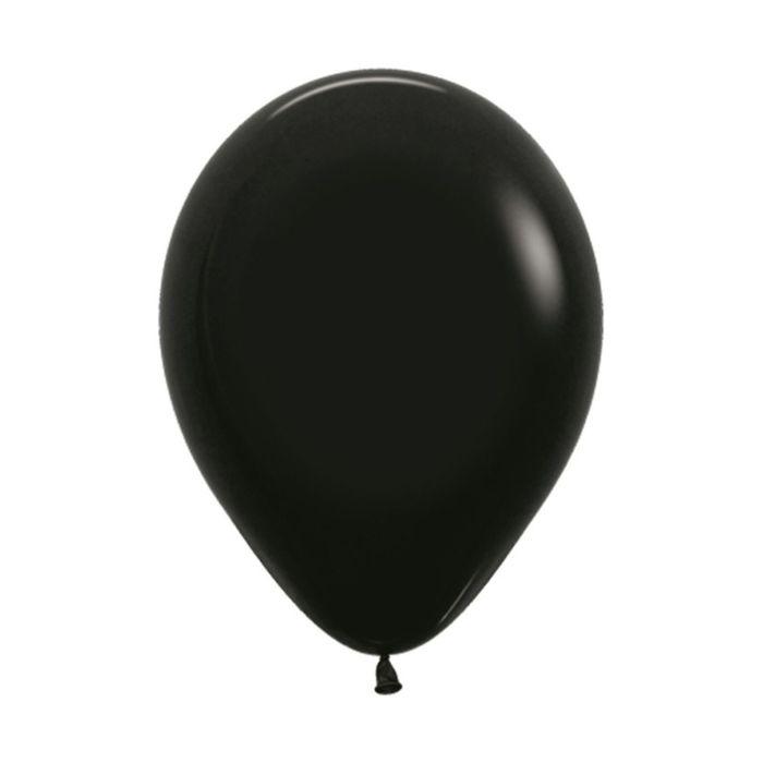 """Шар латексный 5"""", пастель, набор 100 шт., цвет чёрный 080 - фото 308467136"""