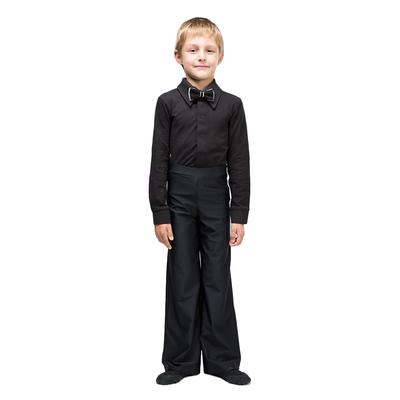 Рубашка бальная, размер 30, цвет чёрный