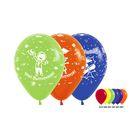 """Шар латексный 12"""" """"Выпускной"""", 5-ти сторонний рисунок, пастель, набор 50 шт., 3 дизайна, цвета МИКС"""