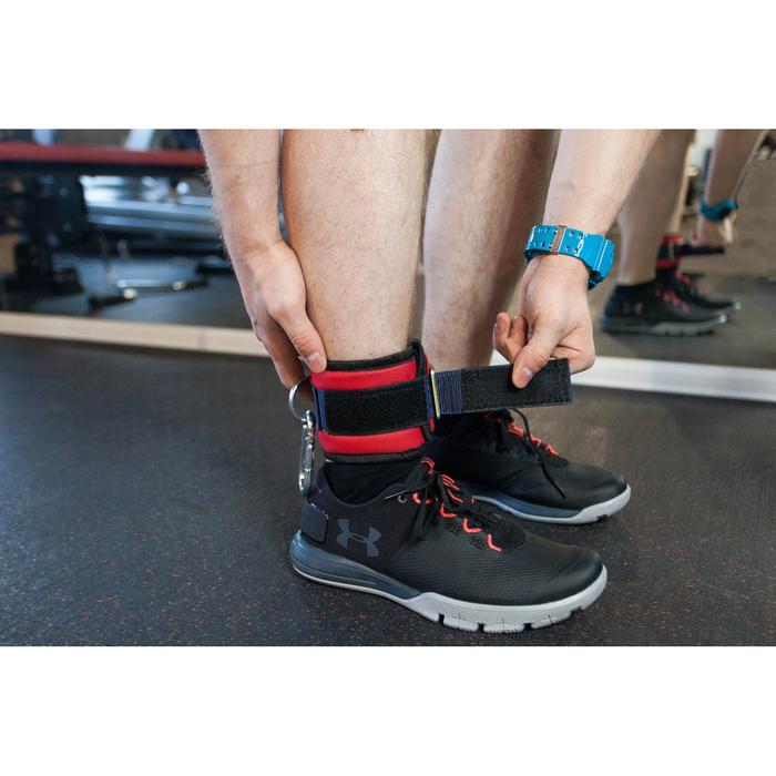 Манжета для тяги на тренажере с карабином, для ног МИКС