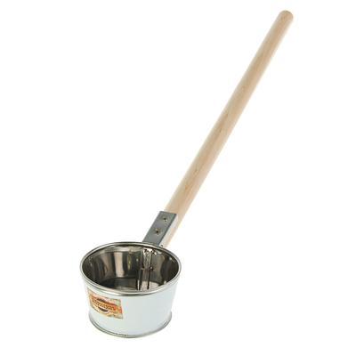 """Ковш из нержавеющей стали, 0,35л, с деревянной ручкой, """"Добропаровъ"""""""