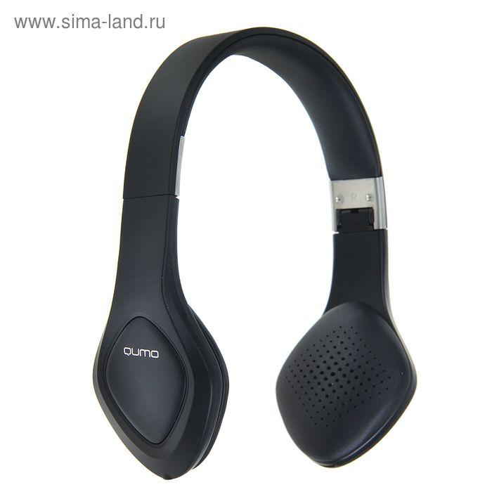 Наушники Qumo Concord 2, накладные, беспроводные, с гарнитурой, Bluetooth, чёрные