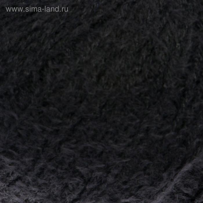 "Пряжа ""Бамбук Травка"" 45% бамбук, 55% полиамид 200м/100гр (0140, черный)"