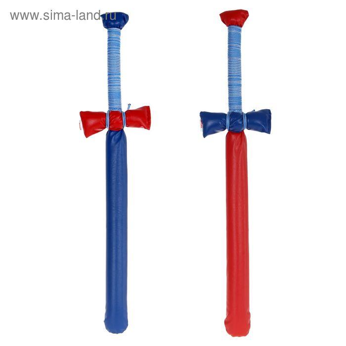 """Набор """"Два меча"""", цвет сине-красный"""
