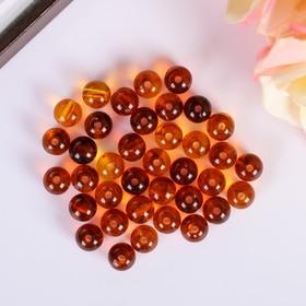 Amber Beads, 20 g, set of 35 pcs.