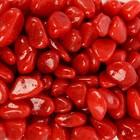 Галька для аквариума (5-10 мм), красная, 350 г