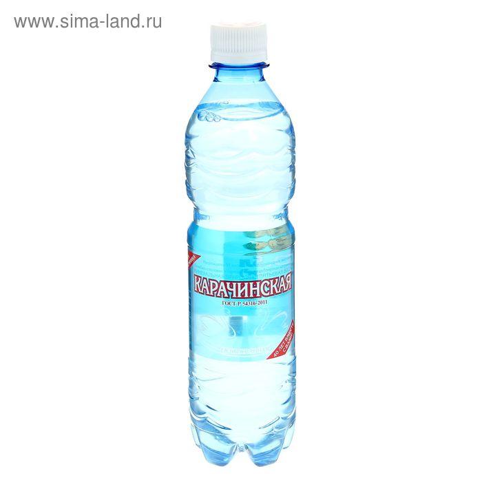 """Вода минеральная """"Карачинская"""", 0,5 л"""