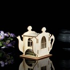 """Заготовка для декупажа """"Шкатулка для чайных пакетиков с крышкой"""" 18 х 13 х 9 см - фото 1643324"""