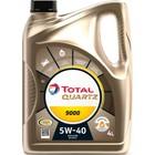 Моторное масло Total Quartz 9000 5W-40, 4 л