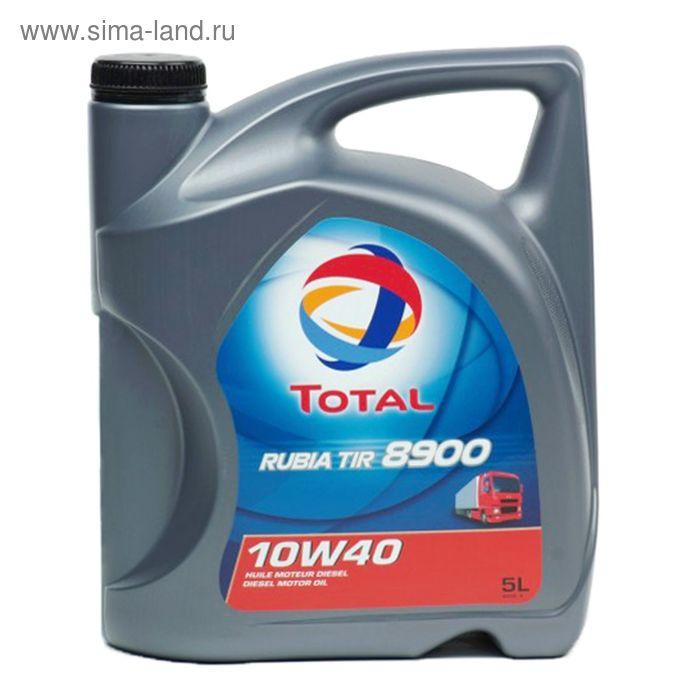 Моторное масло Total RUBIA TIR 8900 10W-40, 5 л