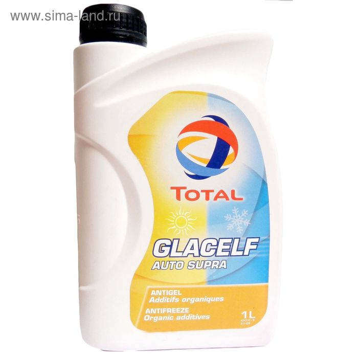 Антифриз Total GLACELF AUTO SUPRA, 1 л