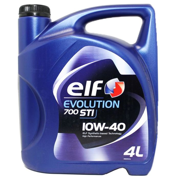 Моторное масло Elf Evolution 700 STI 10W-40, 4 л