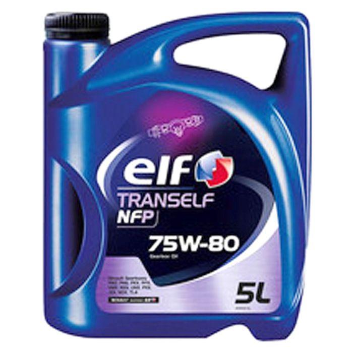 Трансмиссионное масло Elf Tranself NFP 75W-80, 5 л