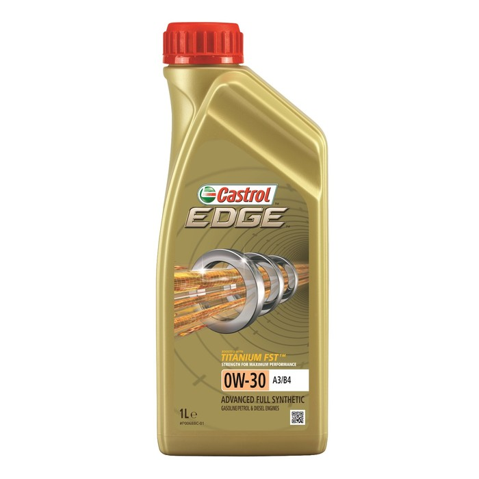 Моторное масло Castrol EDGE Titanium 0W-30 A3/B4, 1 л