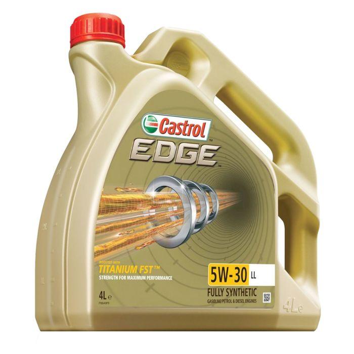 Моторное масло Castrol EDGE Titanium 5W-30 LL, 4 л