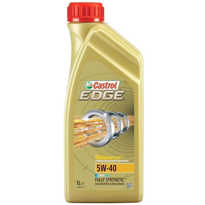 Моторное масло Castrol EDGE Titanium 5W-40, 1 л