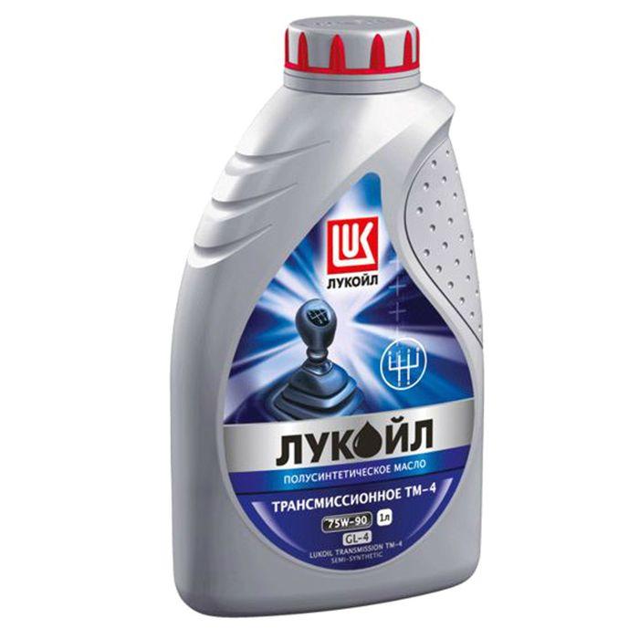 """Трансмиссионное масло """"Лукойл ТМ-4 75W-90 GL-4"""", 1 л"""