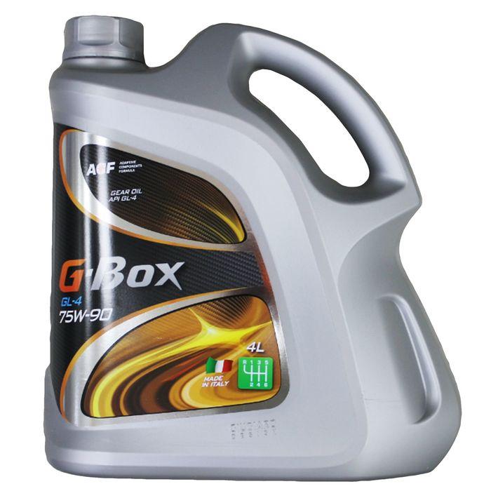 Трансмиссионное масло G-Box GL-4 75W-90, 4 л