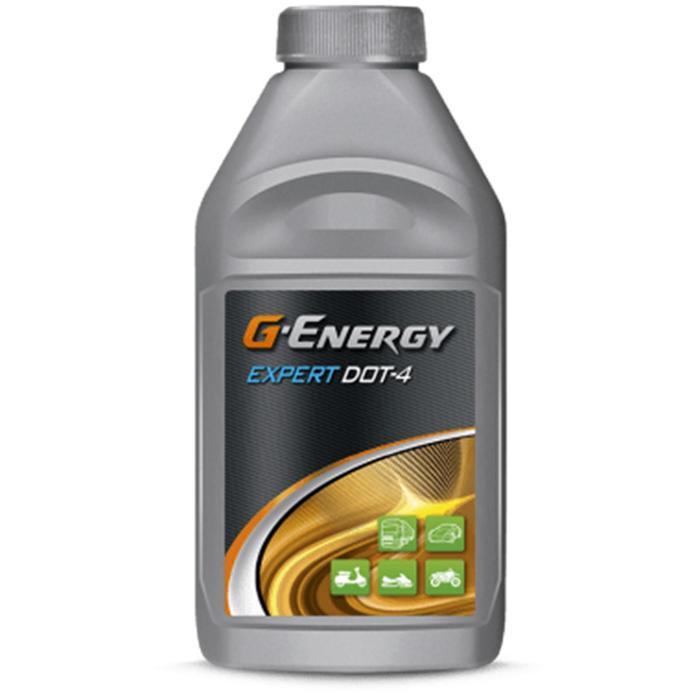 Тормозная жидкость G-Energy Expert DOT 4, 455 г